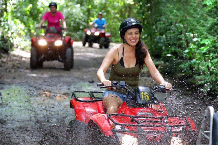 ATVs in Cozumel