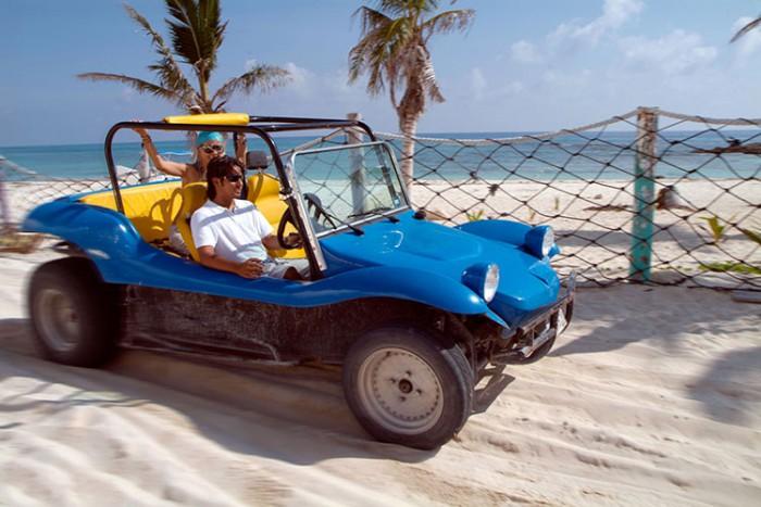 Cozumel dune buggy