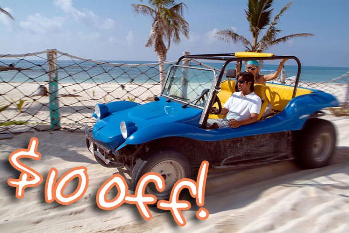 Cozumel dune buggy tour