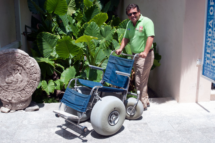Wheelchair tours